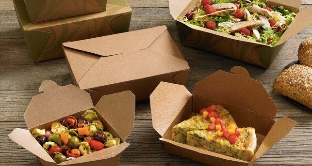 Biodegradable deli pots / salad containers