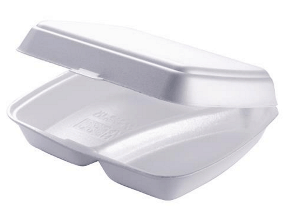 Polystyrene trays / meal boxes