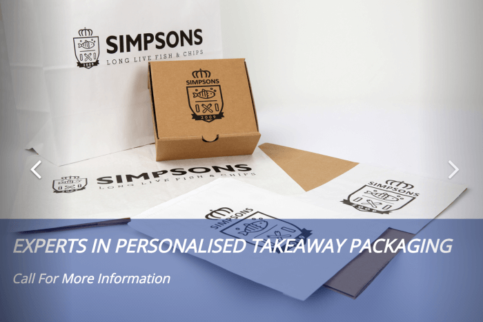 Takeaway Packaging Supplier Weymouth