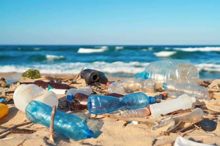 Plastic pollution - 17,000 tonnes of rubbish dumped in one town
