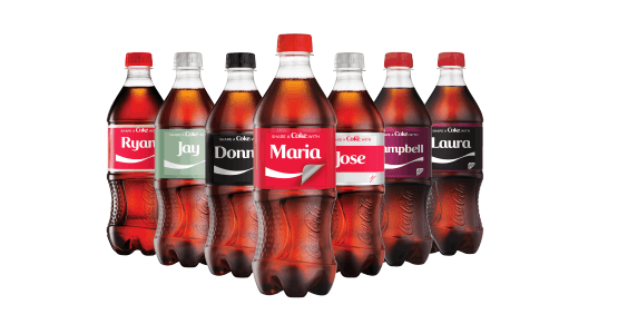 Share a Coke With