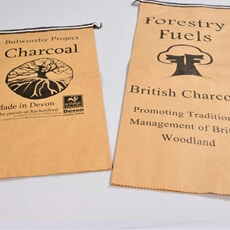 2-ply recycled paper bags / sacks