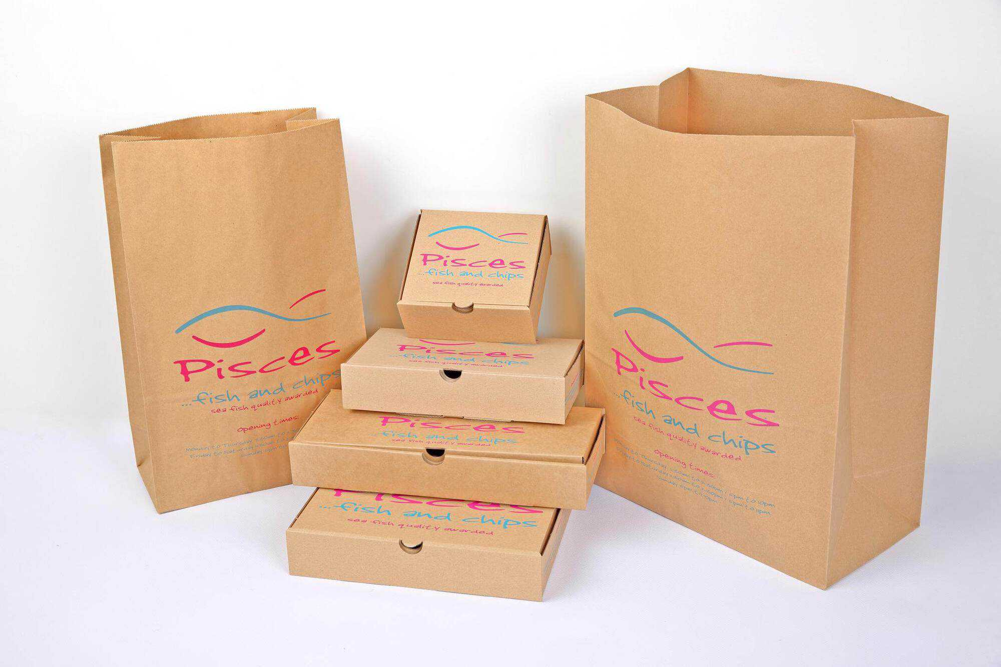 branded business packaging
