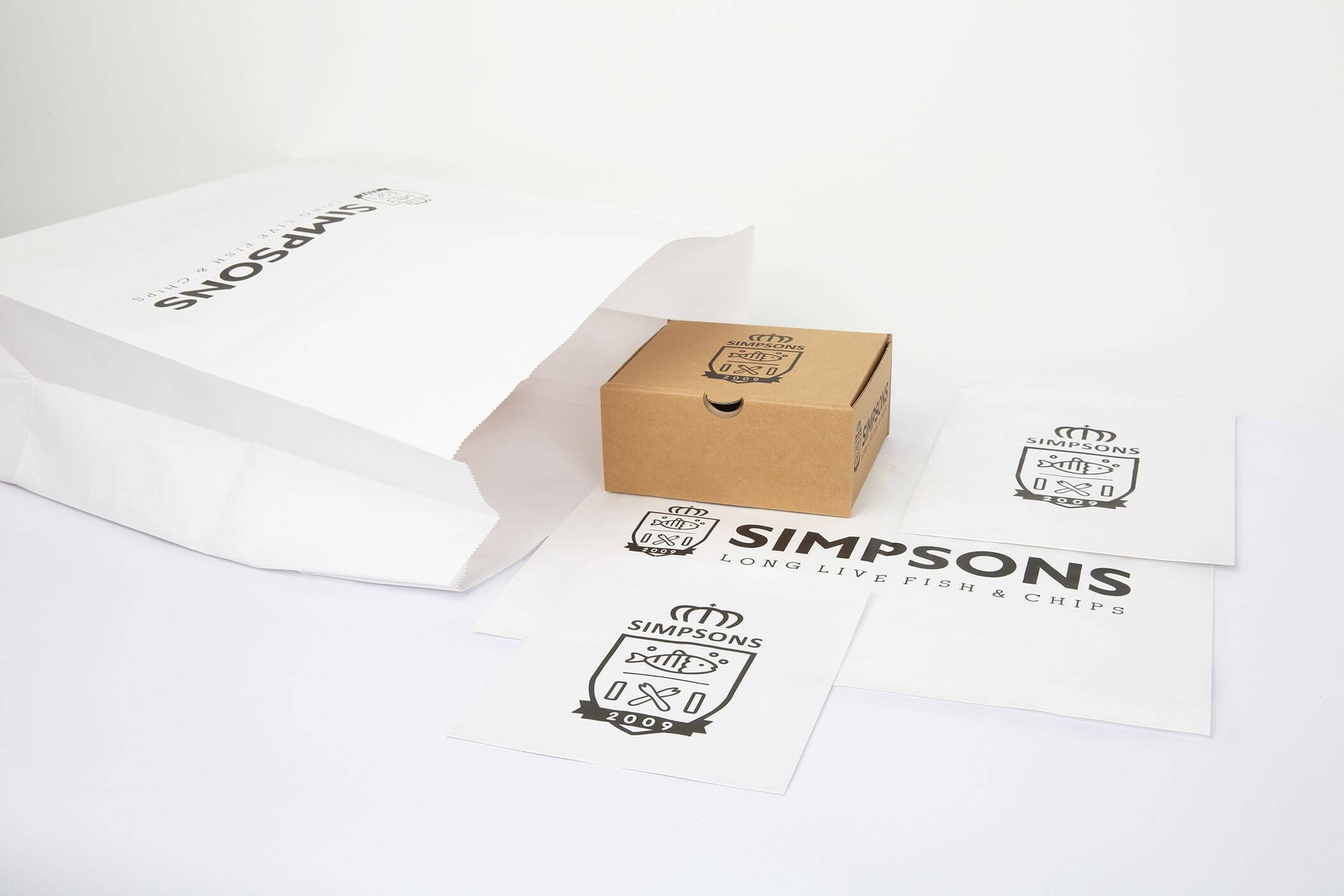 Food Packaging Manufacturer. Fish & Chip Boxes Printed