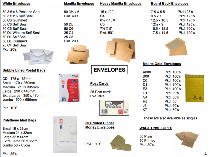 Envelopes supplier Bristol