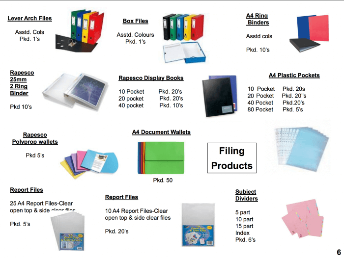 Filing products supplier Bristol