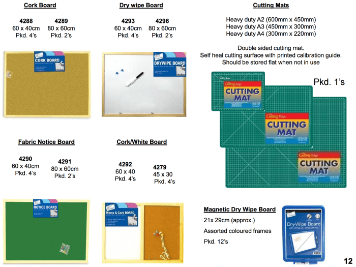 cork and white boards supplier Bristol