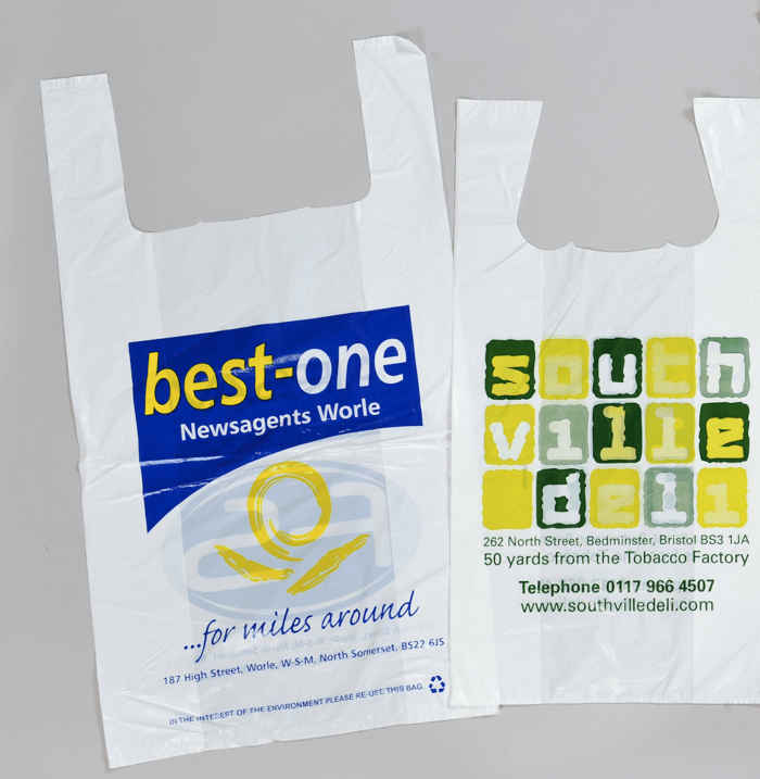 printed carrier bags in southampton