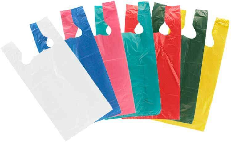 Extensive range of polythene carrier and bags