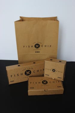 Fish And Chips Boxes Ilfracombe