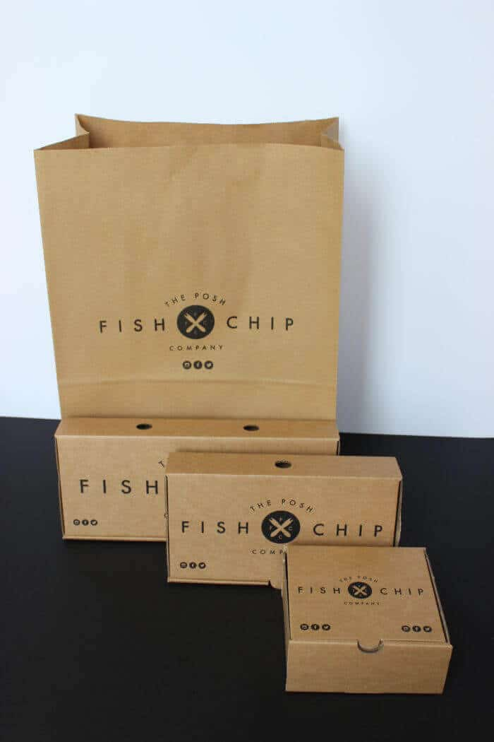 Fish and Chip Boxes