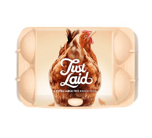 Just Laid Egg Carton